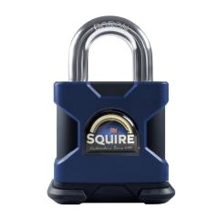 Squire SS50S/MARINE/KA - Stronghold Marine 50mm Padlock - SS Open Shackle - keyed Alike