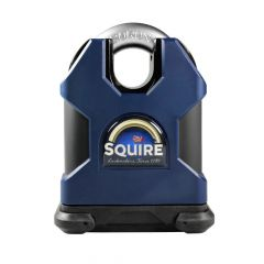 Squire SS65CE - Stronghold 65mm Hardened Steel Padlock (Body Only) - Closed Shackle - Accepts any Modified 71mm Double Euro Cylinder