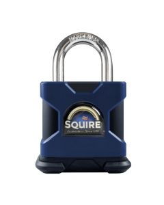 Squire SS80SKA - Stronghold 80mm Hardened Steel Padlock - Open Shackle - Keyed Alike