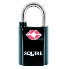 Squire TSA20T -  Twinpack 2 x 20mm TSA approved Luggage Padlocks - Alike Padlock