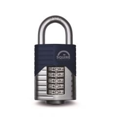 Squire VULCAN COMBI 60mm Padlock - 5 Wheel