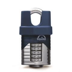 Squire VULCAN COMBI60CS 60mm Padlock - Closed Shackle - 5 Wheel