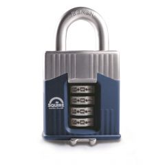 Squire Warrior 45mm Combination padlock - 4 Wheel - Long Shackle 2.5""