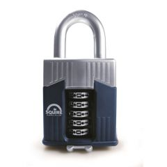 Squire Warrior 65mm Combination padlock - 5 Wheel