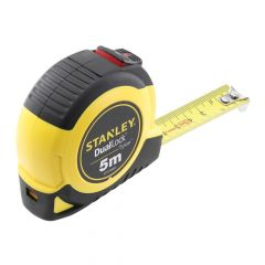 Stanley DualLock Tylon Pocket Tape 5m (Width 19mm) (Metric only) - STA036803
