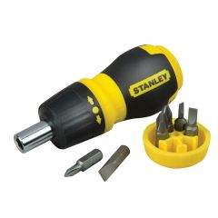 Stanley Multibit Ratchet Stubby & Bits - STA066358