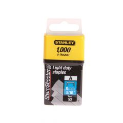 Stanley TRA2 Light-Duty Staple 8mm TRA205T Pack 1000 - STA0TRA205T