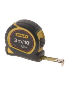 Stanley Tylon Pocket Tape 3m/10ft (Width 13mm) - STA130686N