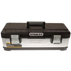 Stanley Galvanised Metal Toolbox 66cm (26in) - STA195620