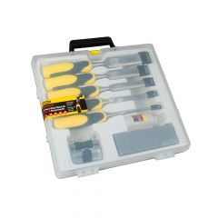 Stanley DynaGrip Chisel + Strike Cap Set of 5 + Access - STA516421