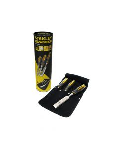 Stanley FatMax Bevel Edge Chisel With Thru Tang Set of 3 (Storage Roll) - STAFMTCSET1