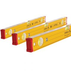 Stabila Level Pack 60cm, 120cm & 180cm - STB962SET