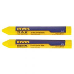IRWIN Crayons Yellow (Card of 2) - STL666062