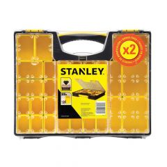 Stanley Pro Organisers Deep & Shallow, Twin Pack - STS181313