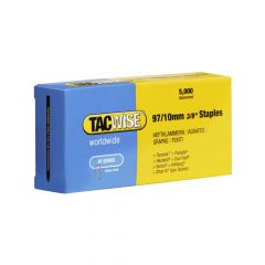 Tacwise Type 97 - 10mm Narrow Crown Staples 5000 Pack - 0302