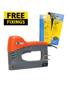 Tacwise 140EL Electric Nail / Staple Gun - Comes with 2,000 15mm Staple & a Staple Selection Pack FREE - 0274