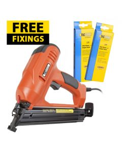 Tacwise 400ELS Electric Brad Nail Gun - Comes with 1,000 40mm Nails & 1,000 20mm Nails FREE - 0733