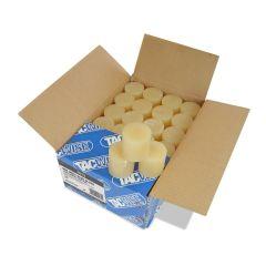 Tacwise Tan Hot Melt Glue Slugs 10kg 43mm (160 Pack) - 1013