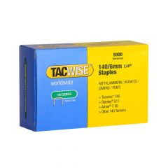 Tacwise Type 140 - 6mm Staples (5,000 Pack) - 0340