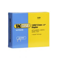 Tacwise Type 1400 - 12mm Staples (10,000 Pack) - 0379