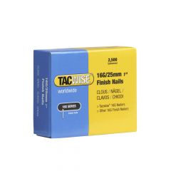 Tacwise Type 16G - 25mm Finish Nails (2,500 Pack) - 0666
