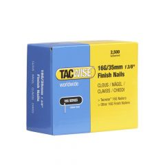Tacwise Type 16G - 35mm Finish Nails (2,500 Pack) - 0295