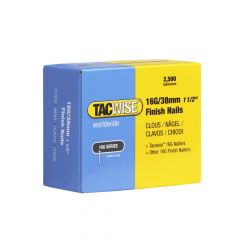 Tacwise Type 16G - 38mm Finish Nails (2,500 Pack) - 0296