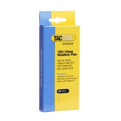Tacwise Type 180 - 15mm Headless Pins (2,000 Pack) - 0478