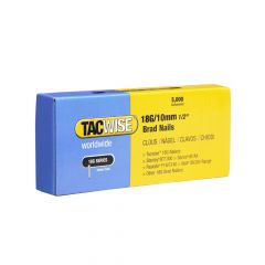 Tacwise Type 18G - 10mm Brad Nails (5,000 Pack) - 0392
