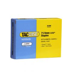 Tacwise Type 71 - 4mm Staples (20,000 Pack) - 0365