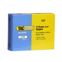 Tacwise Type 71 - 5mm Staples (20,000 Pack) - 0366