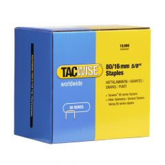 Tacwise Type 80 - 16mm Staples (10,000 Pack) - 1141