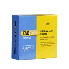 Tacwise Type 80 - 6mm Staples (10,000 Pack) - 0381