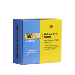 Tacwise Type 80 - 8mm Staples (10,000 Pack) - 0382