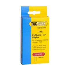 Tacwise Type 91 - 30mm Staples (1,000 Pack) - 0286
