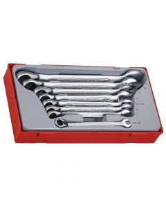 Teng Ratchet Combination Spanner Set 8pc Metric - TENTT6508R