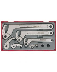 Teng 8 Piece Hook & Pin Wrench Set - TENTTHP08