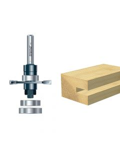Trend 342 x 1/2 TCT Bearing Guided Biscuit Jointer 4.0 x 40mm - TRE34212TC