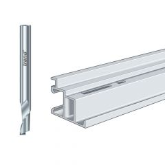 Trend 50/51 x 8mm HSSE Helical Plunge Bit 8mm - TRE50518HSE