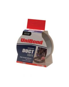 Unibond Duct Tape Silver 50mm x 25m - UNI1418606