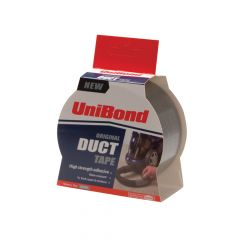 Unibond Duct Tape Silver 50mm x 10m - UNI1667265