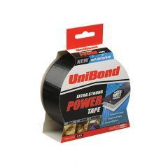 Unibond Powertape Black 50mm x 25m - UNI1668019