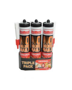 Unibond No More Nails Interior Cartridge Triple Pack - UNI1969154