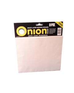 U-POL Onion Board Multi Layer Mixing Pallette 1 Pack (100 Sheets) - UPOON1