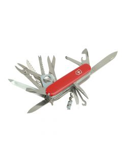 Victorinox Swiss Champ Swiss Army Knife Red with Pouch Blister Pack - VICSWISB