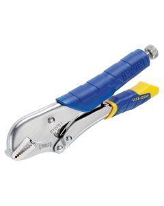 IRWIN Fast Release Straight Jaw Locking Pliers 254mm (10in) - VIST01T