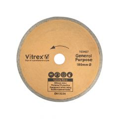 Vitrex Diamond Blade Standard 180mm - VIT103407