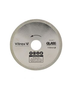 Vitrex Diamond Blade Glass 110mm - VIT103417