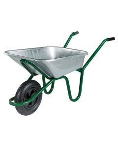 Walsall 90L Galvanised Heavy-Duty Endurance Wheelbarrow - WALEGVPDD