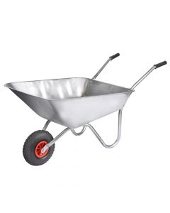 Walsall 85L All-Galvanised Rosemoor Garden Wheelbarrow - WALGARGVPDD